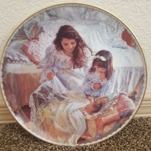 Mother Children Sandra Kuck Collectables Plate